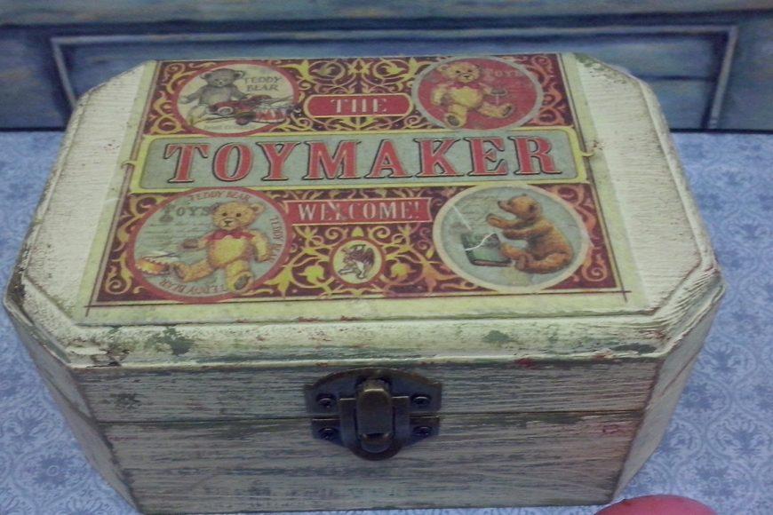 "Cajita """"ToyMaker"""