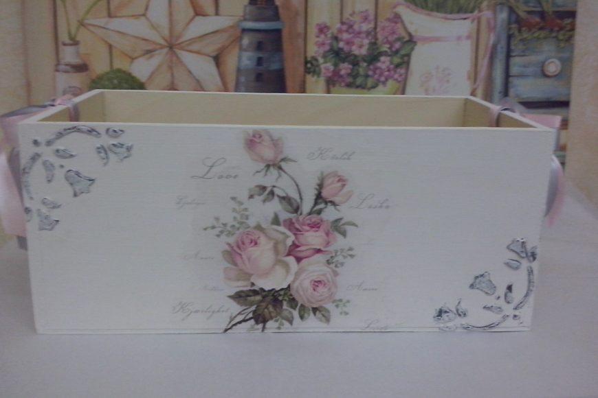 Una romántica caja contenedora