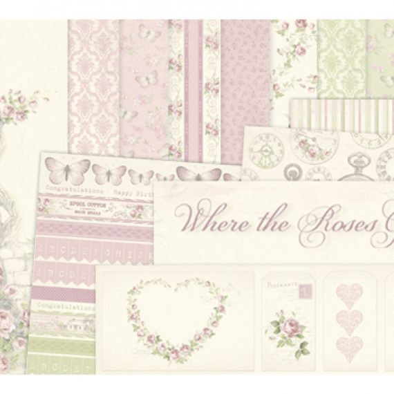 "Kit ""Where the Roses Grow"" de Pion Design"