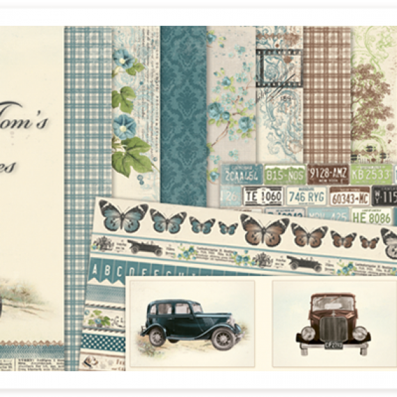 "Kit ""Mister Tom´s Treasures"" de Pion Design"