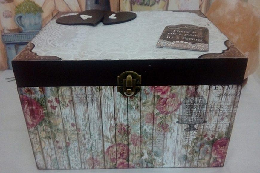 Caja de firmas para una boda