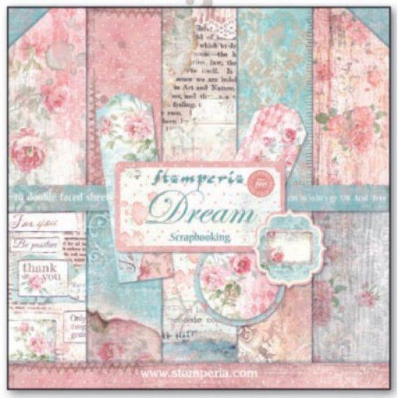 "Kit ""Dream"" de Stamperia de 30,5 x 30,5 cm"