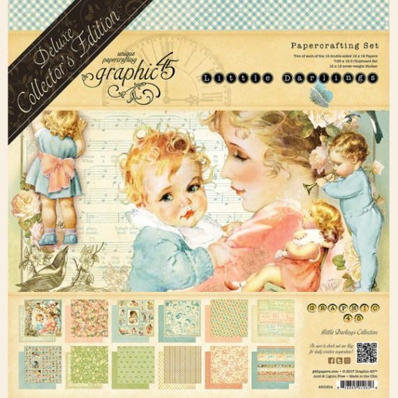 """Littel Darlings"" de luxe collection de Graphic45"