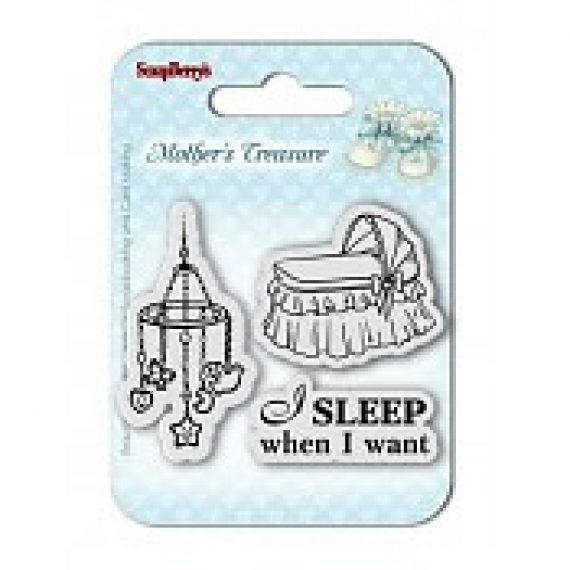"Clear Stamp ""Mother´s Treasure"" de ScrapBerry´s"