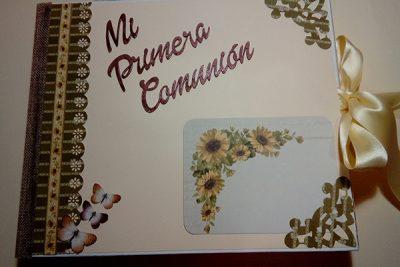 Album y Libro de Firmas de Mi Primera Comunión