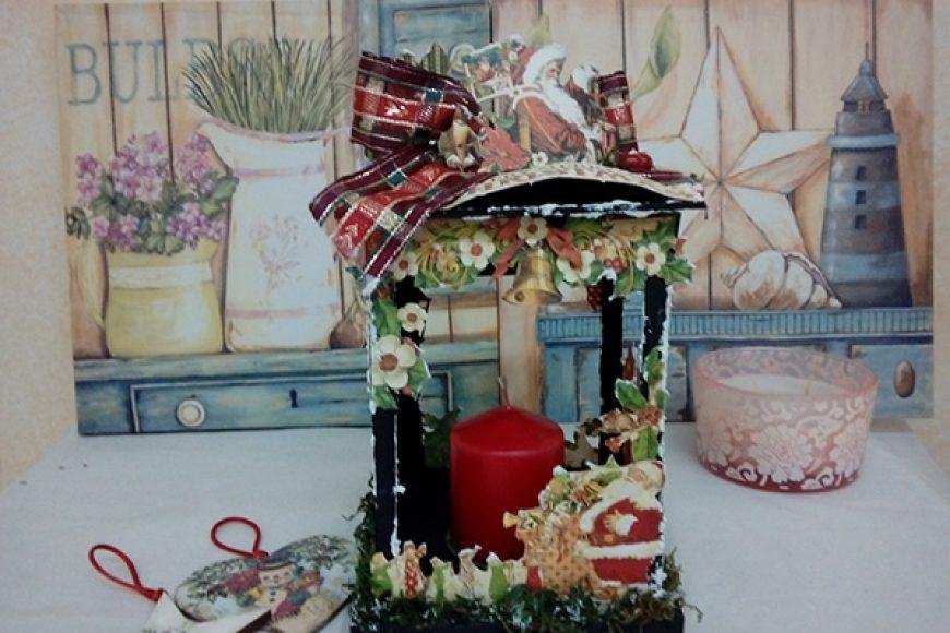 farolillo de Navidad