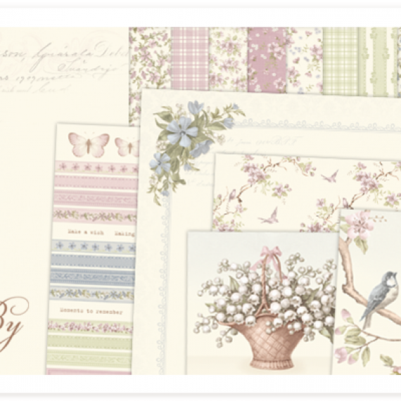 "Kit de 12"" x 12"" ""Days Gone By"" de Pion Design"