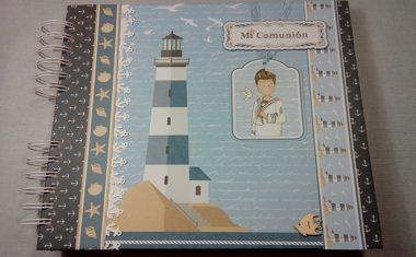 Album y Libro de Firmas de Mi Primera Comunión para niño