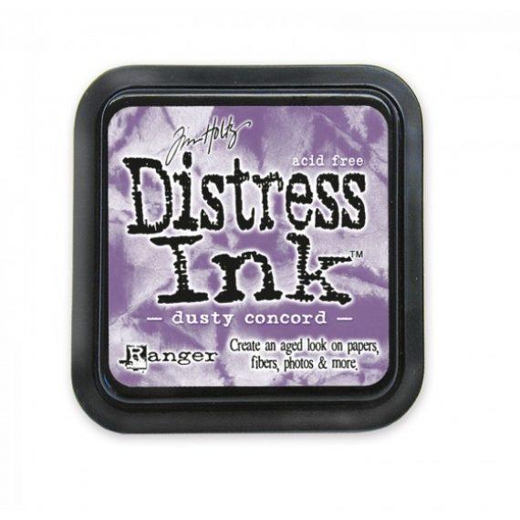 Tinta Distress Ink Dusty Concord de Tim Holtz