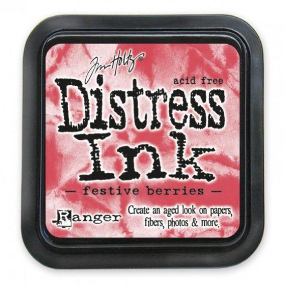 Tinta Distress Ink Festive Berries de Tim Holtz