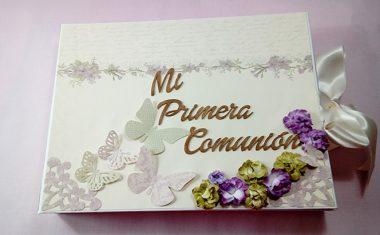 Libro de Firmas de Mi Primera Comunión para Carla