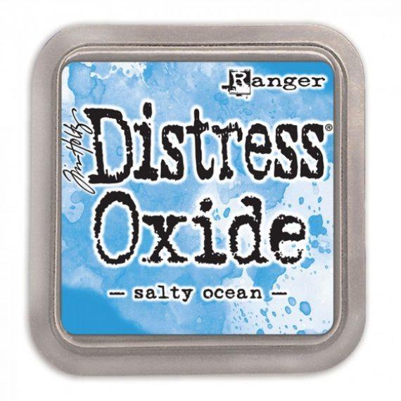 "Tinta Distress oxide ""Salty ocean"" de Tim Holtz"