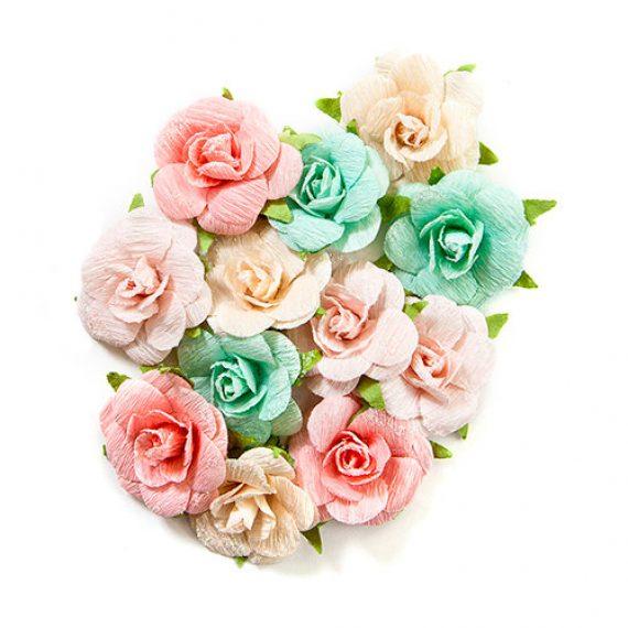 """Set de Flores de papel """"Havana Collection"""" de Prima Marketing"""