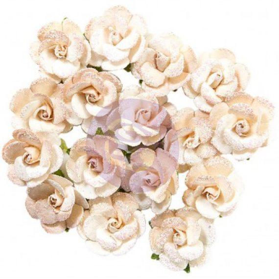 "Set de flores de papel ""Santorini Mulberry - Ammoudi"" de Prima Marketing"