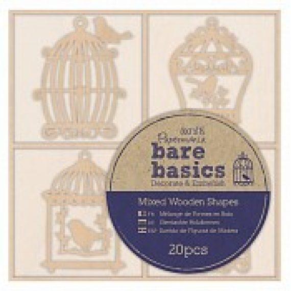 "Bare Basics ""Birdcages"" de Papermanía"
