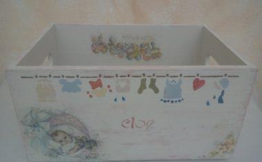 Cajas contenedoras para bebés