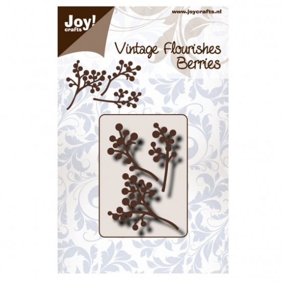 "Die Cut ""Vintage flourishes Berries"" de Joy Crafts"