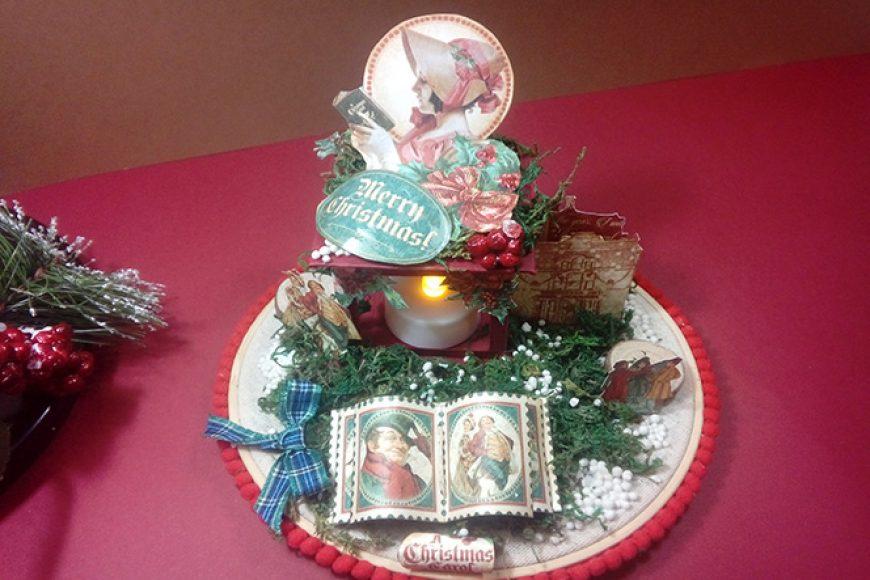 Centro de Navidad «Christmas Carol»
