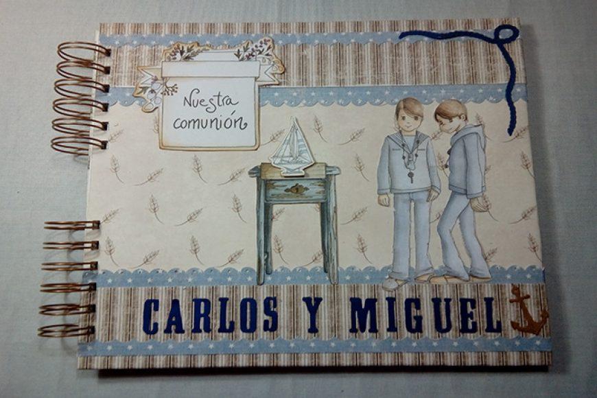 El Libro de Firmas para Carlos y Miguel