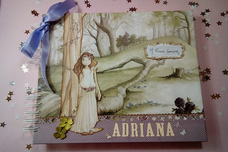 Libro de Firmas para Adriana