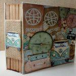 Album de viaje con papeles de Mintay by Karola