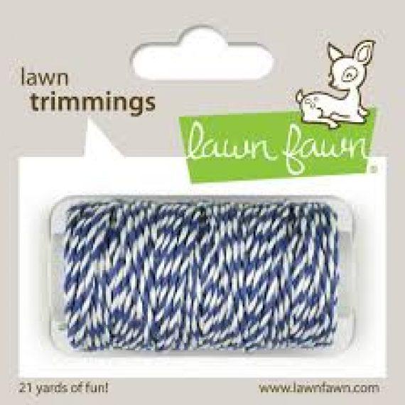 """Cordón de cáñamo """"Blue jay"""" de Lawn Fawn"""