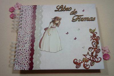 Album de Mi Primera Comunión para niña