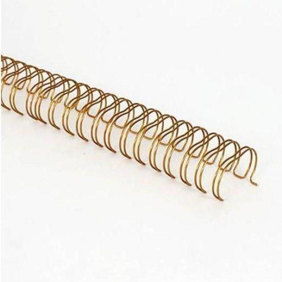"Tira de Anillas Wire bronce 1 1/4"""