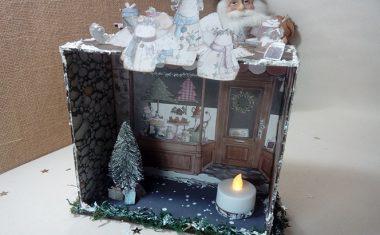 Casa de navidad con El Altillo de los duendes