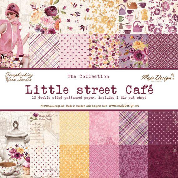 "Pack ""Little street café"" de Maja Design de 12"" x 12"""