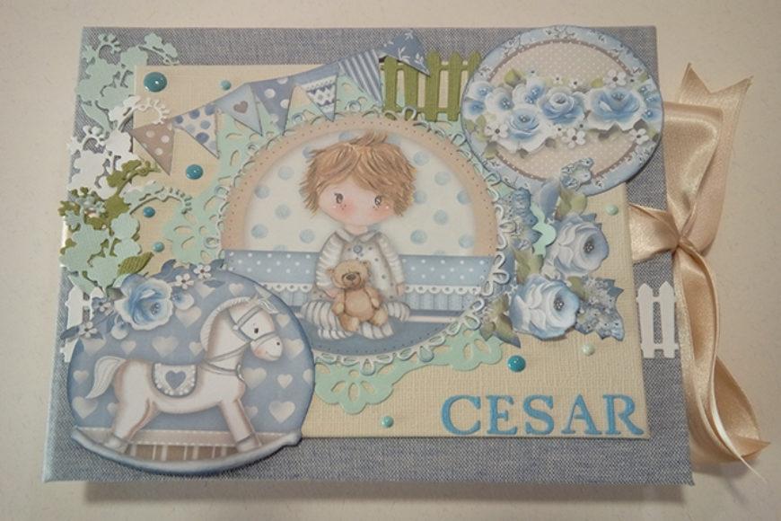 Album de fotos para César