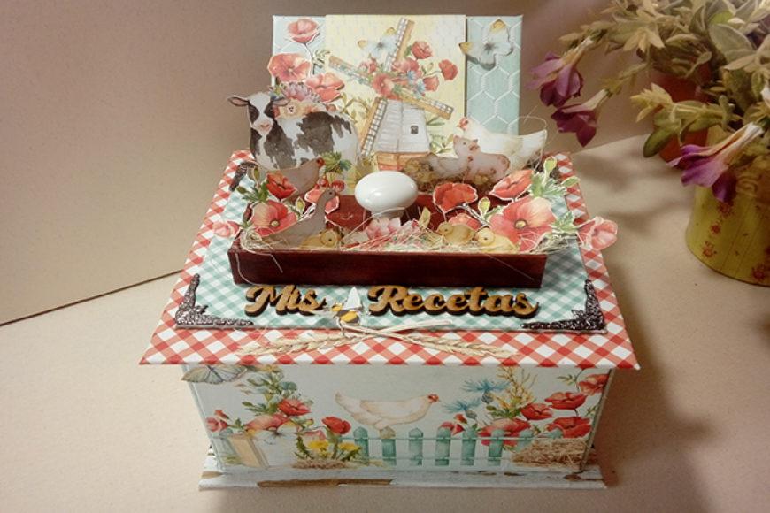 Caja «Mis Recetas» de Mintay by Karola