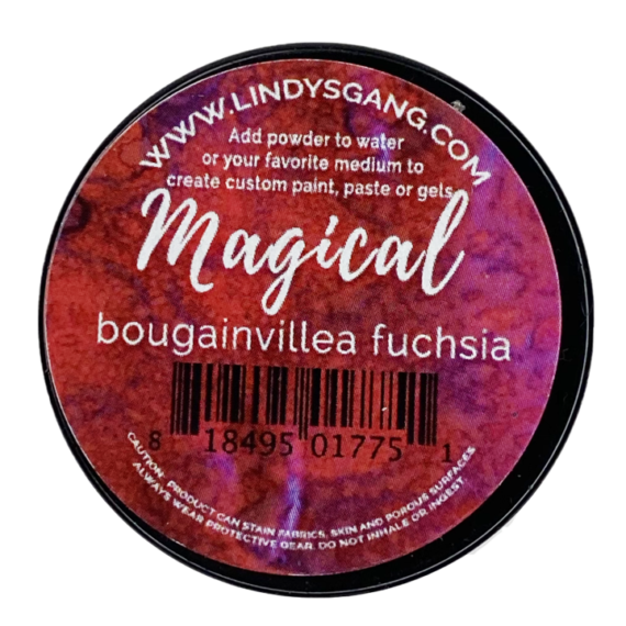"Lindy's Stamp Gang ""Bougainvillea Fuchsia"" Magical"