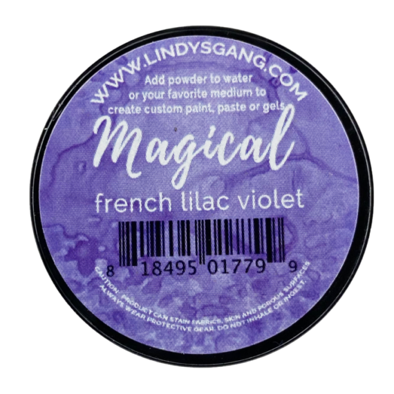 "Lindy's Stamp Gang ""French Lilac Violet"" Magical"